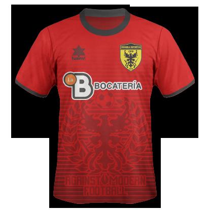CFP Orihuela D - Camiseta 16-17 boceto con publicidad