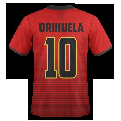CFP Orihuela D - Camiseta 16-17 trasera